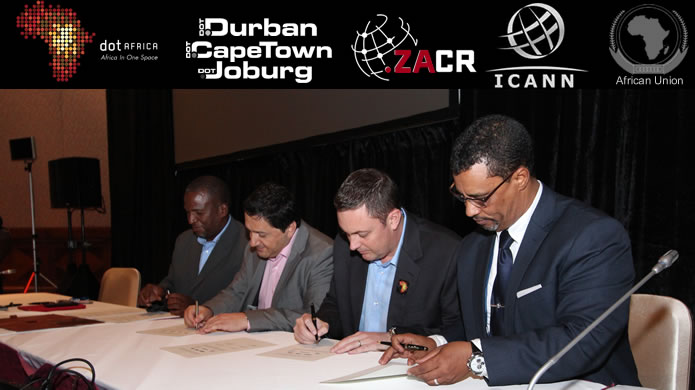 ZACR & ICANN Registry Agreement Signing Ceremony